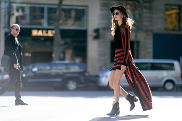 Paris Fashion Week Street Style October 2015 Day 3 photo Chiara