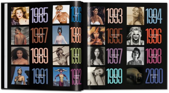 Pirelli Calendar 50 Years book photo