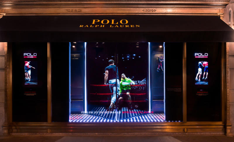 Polo Ralph Lauren's Holographic Windows the impression-2