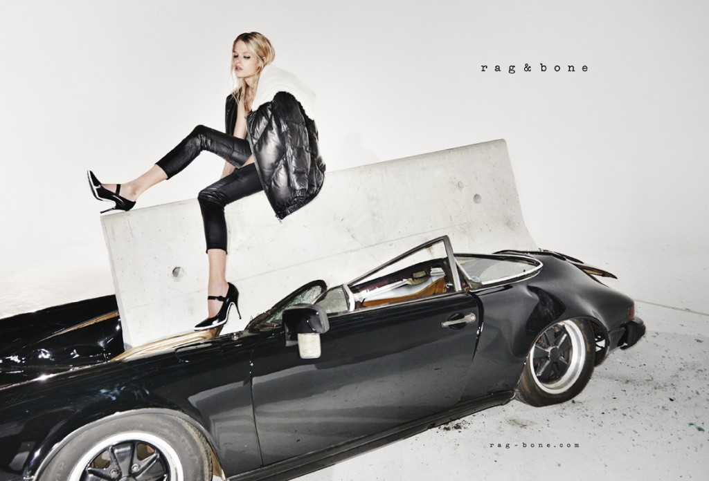 rag  &  bone FW15 Campaign feat. Gabriella Wilde photo