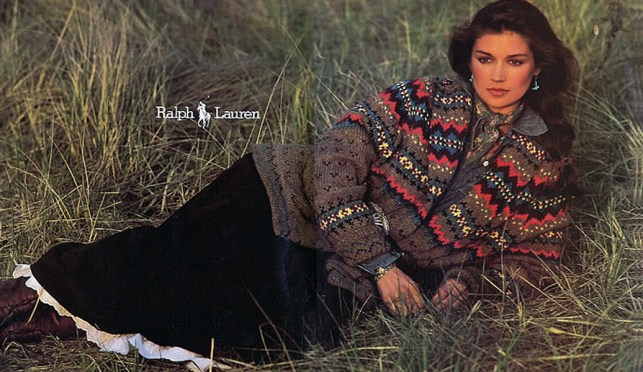 Ralph Lauren Collection FW 1981