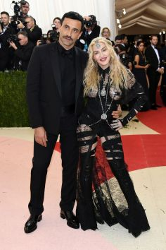 Riccardo Tisci and Madonna in Givenchy