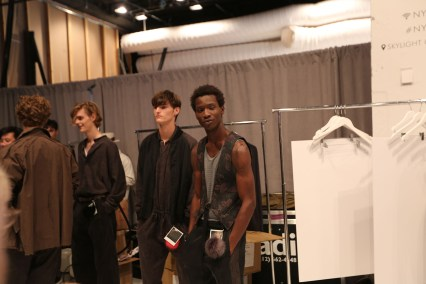 Robert-Geller-fashion-show-backstage-spring-2017-the-impression-027