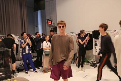 Robert-Geller-fashion-show-backstage-spring-2017-the-impression-046