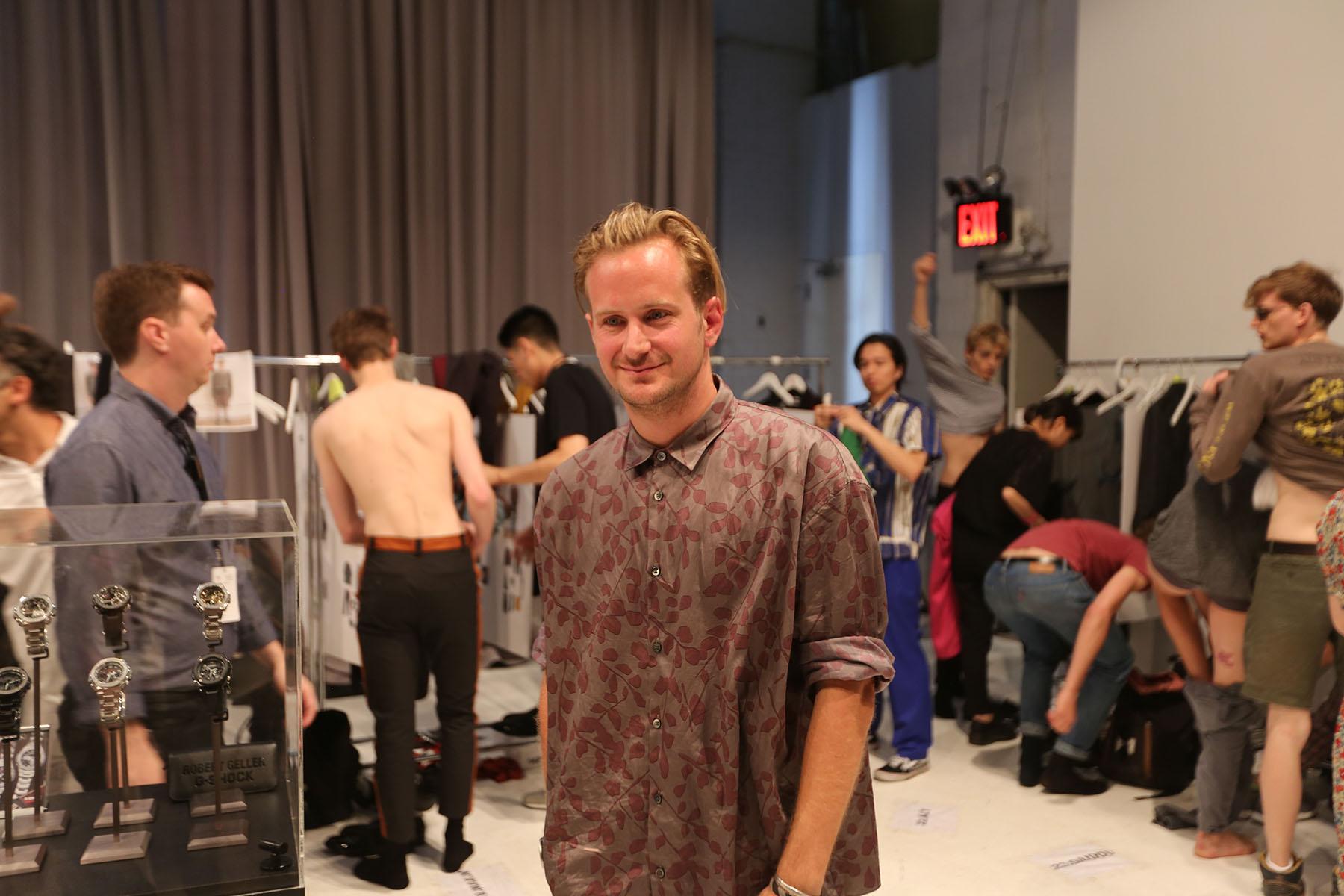 Robert-Geller-fashion-show-backstage-spring-2017-the-impression-050