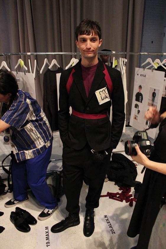 Robert-Geller-fashion-show-backstage-spring-2017-the-impression-081