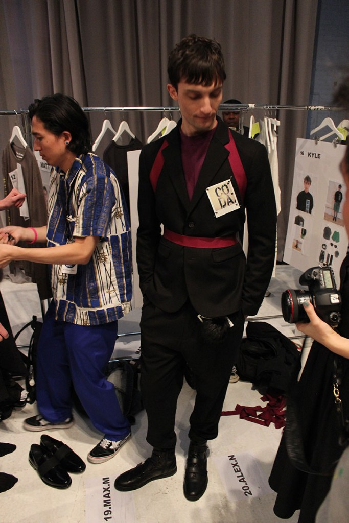 Robert-Geller-fashion-show-backstage-spring-2017-the-impression-082