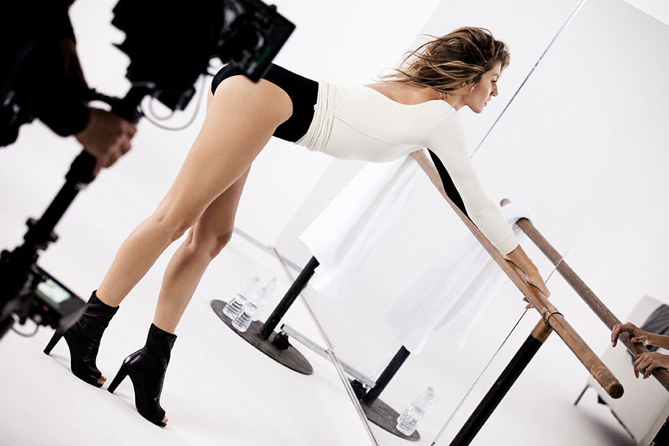 STUART WEITZMAN COMMERCIAL with Gisele