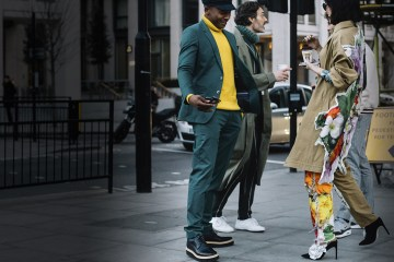 London Fashion Week Men's Street Style Fall 2018 Day 2