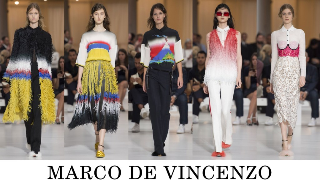 Marco de Vincenzo Top 10 others spring 2016 fashion show photo