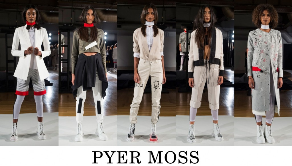 Pyer Moss Top 10 others spring 2016 fashion show photo