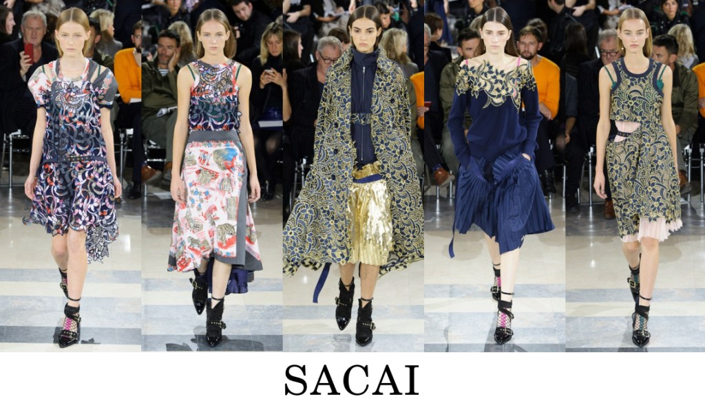 Sacai Top 10 others spring 2016 fashion show photo