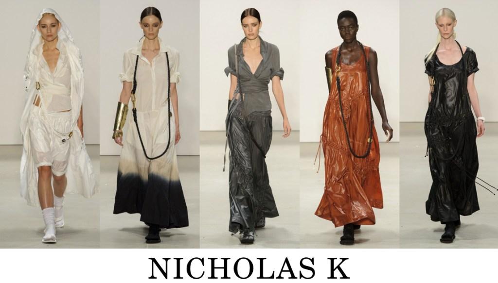 Nicholas K Top 10 others spring 2016 fashion show photo