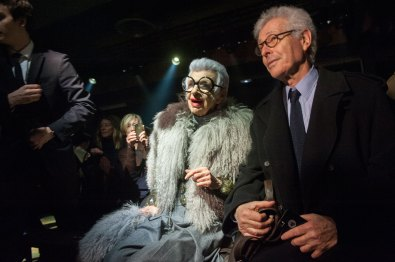 Iris Apfel at Dries van Noten