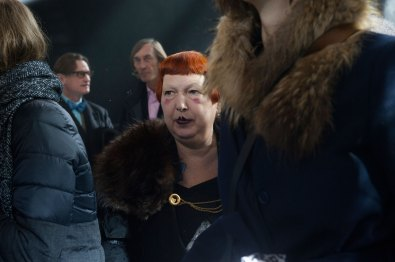 Lynn Yaeger at Louis Vuitton