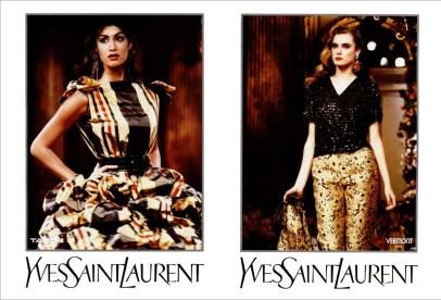 Yves Saint Laurent FW 1991