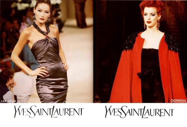 Yves Saint Laurent FW 1995