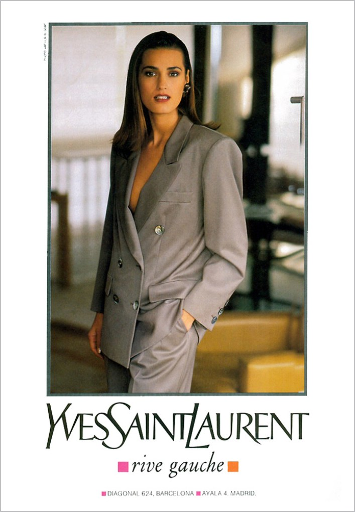 Yves Saint Laurent Rive Gauche SS 1991