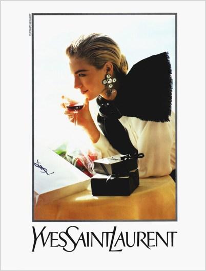 Yves Saint Laurent SS 1990-1