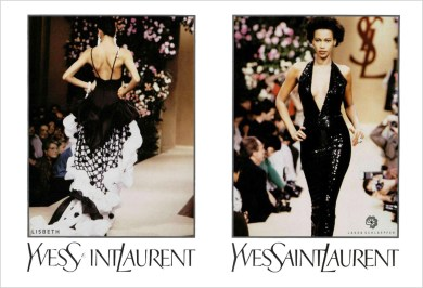Yves Saint Laurent SS 1990
