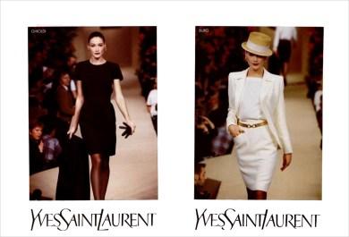Yves Saint Laurent SS 1997