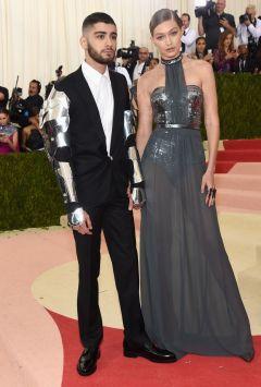 Zayn in Versace & Gigi Hadid in Tommy Hilfiger