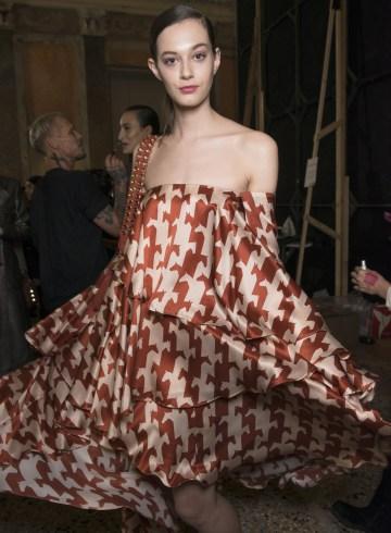 Aigner Fall 2017 Fashion Show Backstage