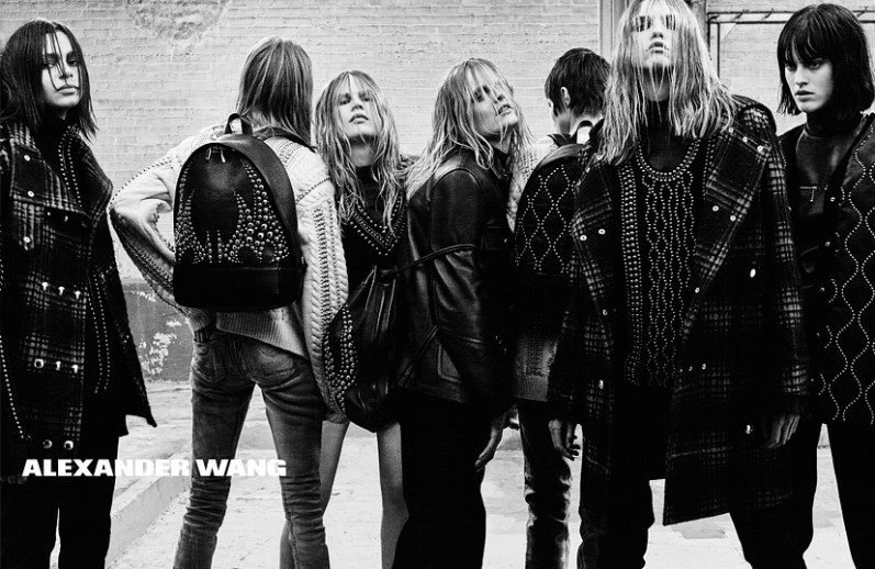 alexander wang fall 2015 ad campaign photo