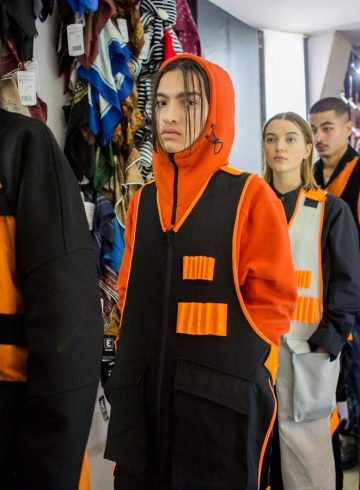 Avoc Fall 2017 Menswear Fashion Show Backstage