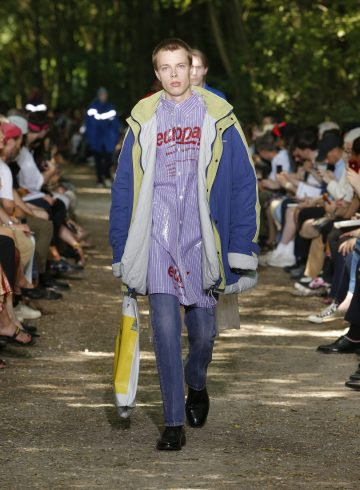 Balenciaga Spring 2018 Men's Fashion Show