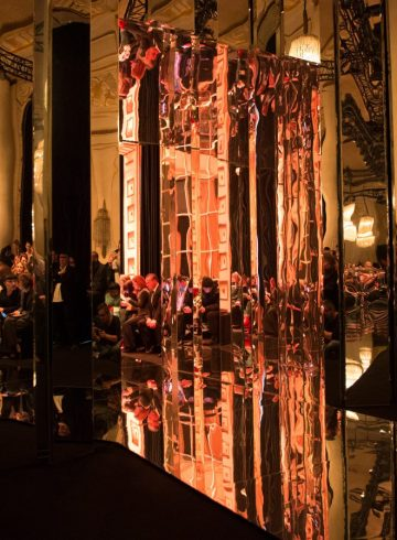 Balmain Fall 2017 Fashion Show Atmosphere