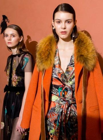 Blugirl Fall 2017 Fashion Show Backstage