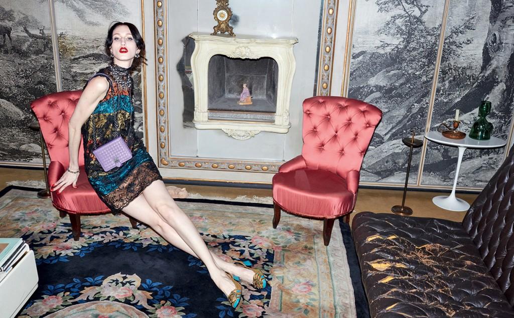 bottega veneta pat cleveland jurgen teller fall 2015 ad campaign photo