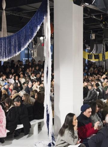 Calvin Klein Fall 2017 Fashion Show Atmosphere