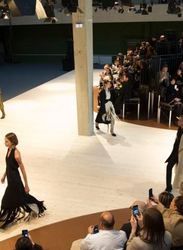 Celine Fall 2017 Fashion Show Atmosphere