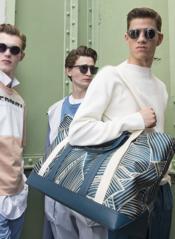 Cerruti Spring 2018 Men's Fashion Show Backstage
