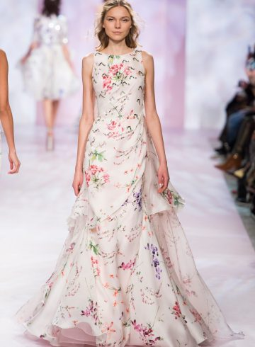 Georges Chakra Spring 2017 Couture Fashion Show