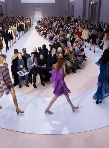 Chloé Fall 2017 Fashion Show Atmosphere