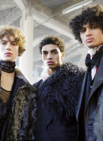 Ann Demeulemeester Fall 2017 Menswear Fashion Show Backstage