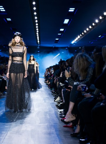 Christian Dior Fall 2017 Fashion Show Atmosphere,