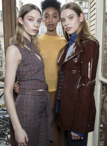 Each x Other Fall 2017 Fashion Show Backstage Beauty