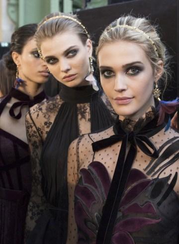 Elie Saab Fall 2017 Fashion Show Backstage