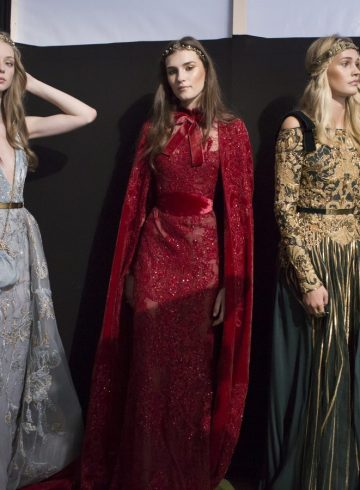 Elie Saab Fall 2017 Couture Fashion Show Backstage
