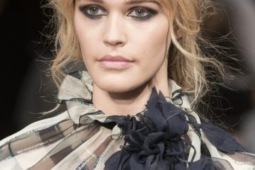 Alberta Ferretti Fall 2017 Fashion Show Beauty