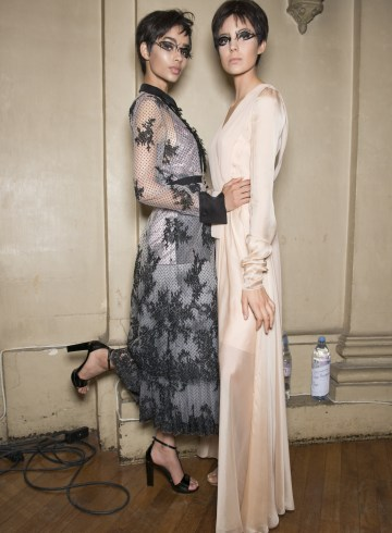 Julien Fournie Fall 2017 Couture Fashion Show Backstage