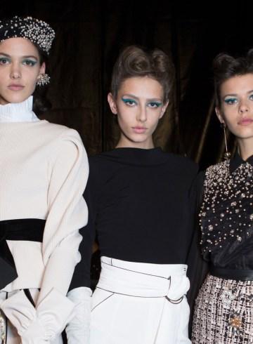 Elisabetta Franchi Fall 2017 Fashion Show Backstage
