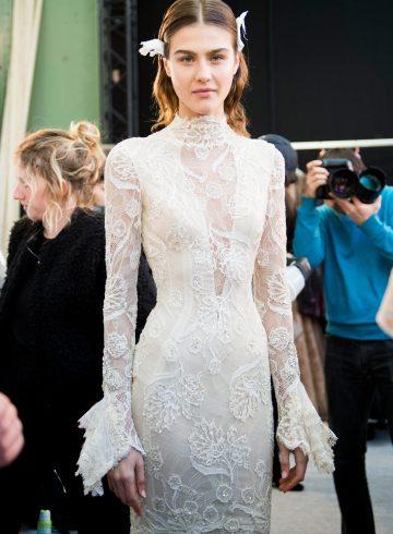 Galia Lahav Spring 2017 Couture Fashion Show Backstage