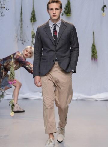 Geoffrey B. Small Spring 2018 Men's Fashion Show