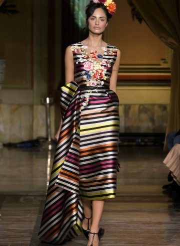 Giada Curti Spring 2017 Couture Fashion Show
