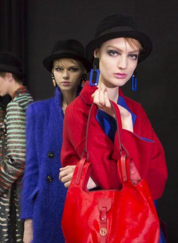 Giorgio Armani Fall 2017 Fashion Show Backstage